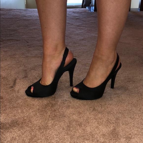 dsw shoes black pumps